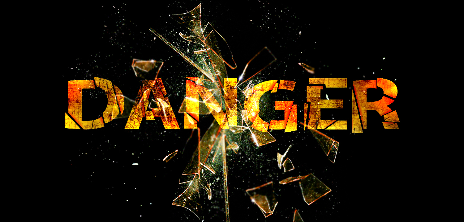 Danger_Text___Yellow_Fire_by_flashmac